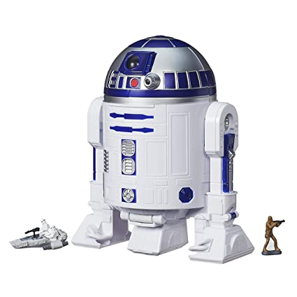 Amazon Star Wars The Force Awakens Micro Machines R2 D2 Playset