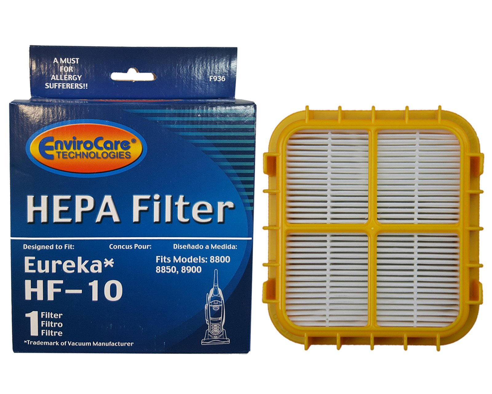 (25) Eureka Hf-10 Pleated Hepa Filter W/activated Charcoal Vacuum Filter, Upright, Boss Capture, Pet Lover Vacuum cleaners, 63347A, 633489, 67810-2, H14017, 63358