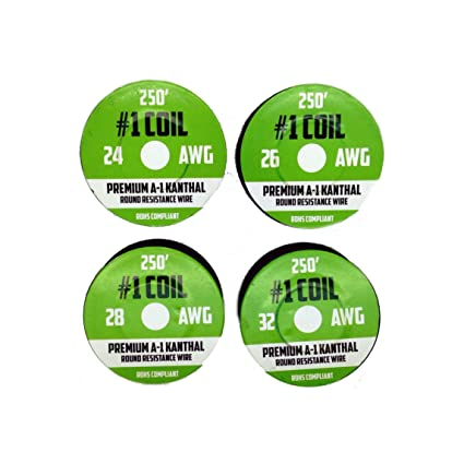Kanthal a 1 wire 1000 ft 4 pack 24 26 28 32 awg gauge spools kanthal a 1 wire 1000 ft 4 pack 24 26 28 32 awg gauge keyboard keysfo Images