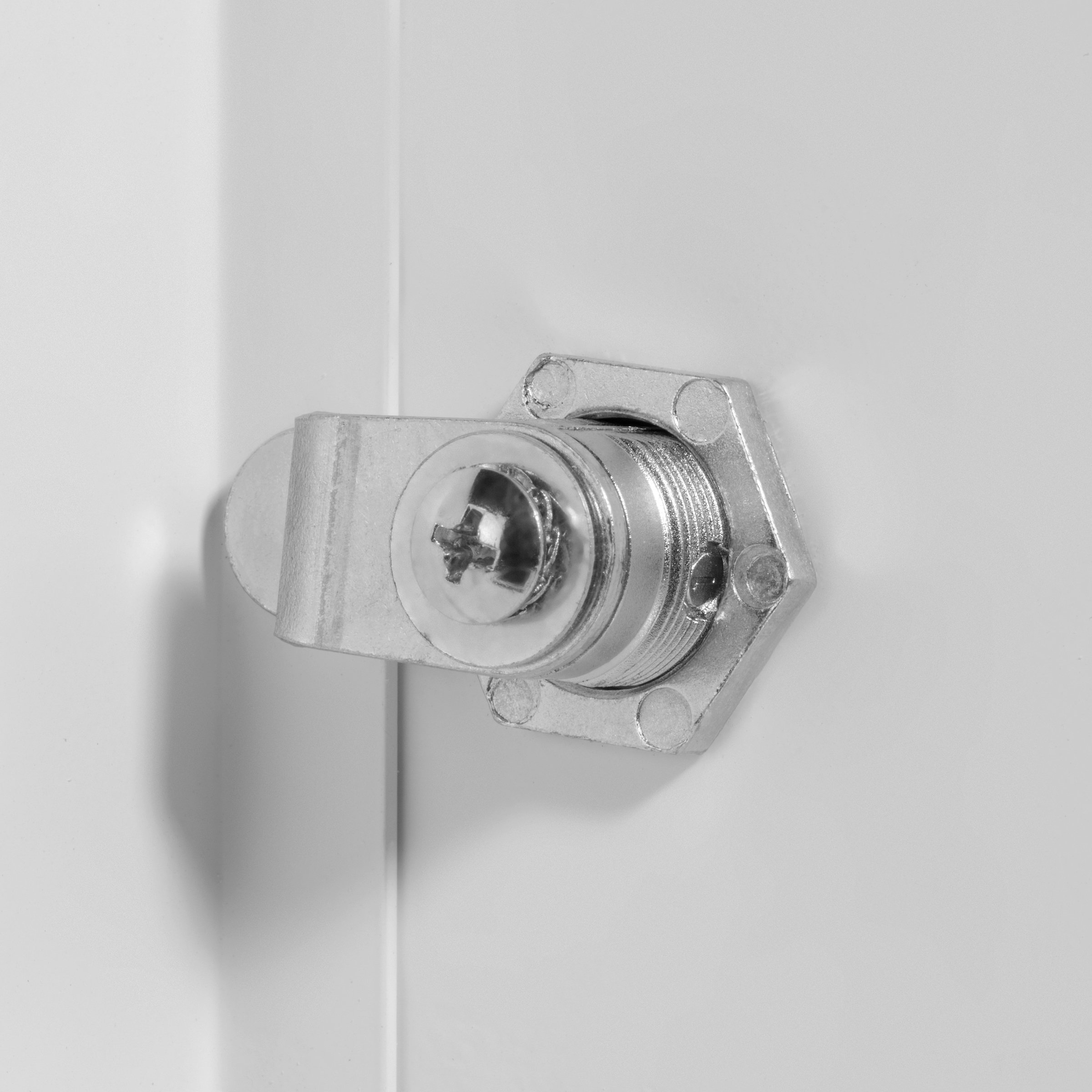Premier 2002 Series Steel Access Door, 18 x 18 Flush Universal Mount, White (Keyed Cylinder Latch) by Premier Access Doors (Image #2)
