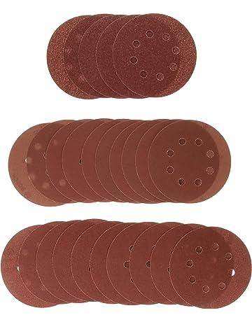 Bosch 2607019497 - Paquete de 25 lijas para lijadoras excéntricas (diámetro de 125 mm,