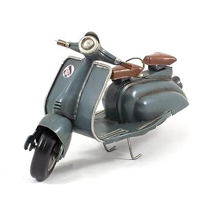 Modèle réduit métal vintage - Scooter Lambretta Li 50 Série 2 gris