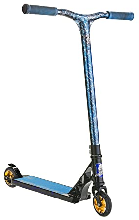Patinete Scooter GRIT ELITE 2016 Laser Azul/Negro: Amazon.es ...