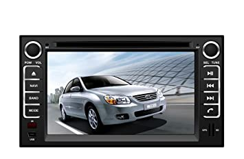 Amazon in dash oem replacement radio dvd gps navigation in dash oem replacement radio dvd gps navigation headunit for kia cerato 2003 2009 sciox Image collections