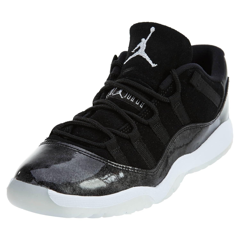 3b94c1f6ac42 Jordan Little Kids Air Jordan 11 Retro Low PS Pre-School black  white-metallic silver Size 2.0 US  Amazon.in  Baby