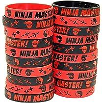 Amazon.com: Gypsy Jades Ninja Master Silicone Wristbands ...