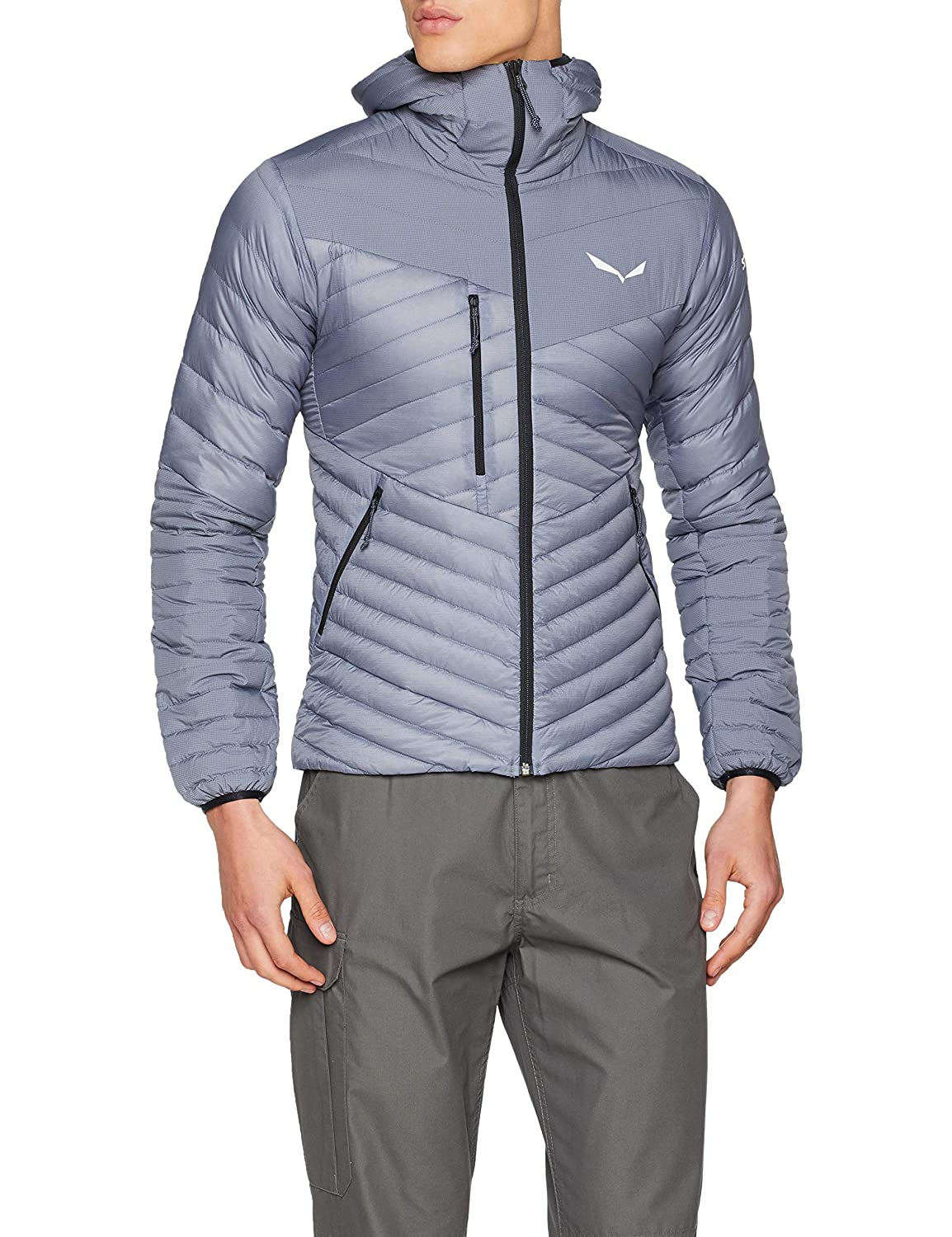 TALLA S. SALEWA Ortles Light 2 Dwn M Chaqueta, Hombre
