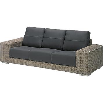 Lounge sofa outdoor  Amazon.de: 4Seasons Outdoor Kingston 3-Sitzer Lounge-Sofa ...