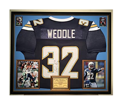 info for f9aeb 4d32d Premium Framed Eric Weddle Autographed/Signed San Diego ...