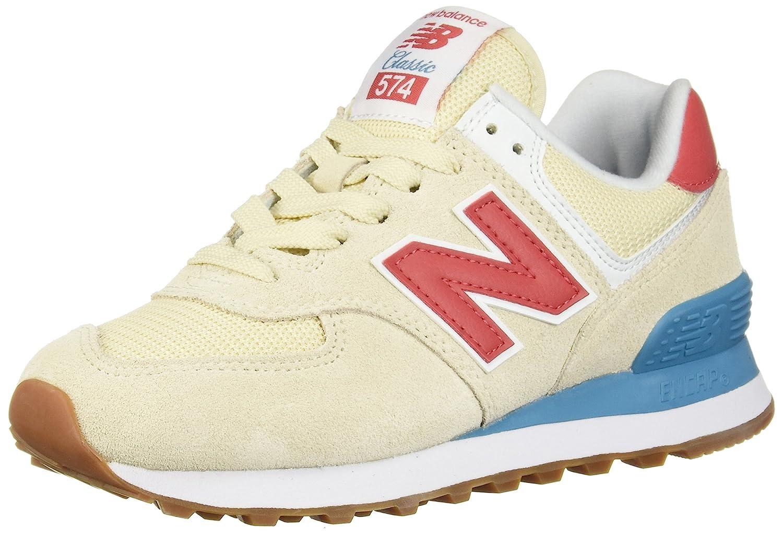 New Balance Wl574v2, Zapatillas para Mujer 36 EU|Beige