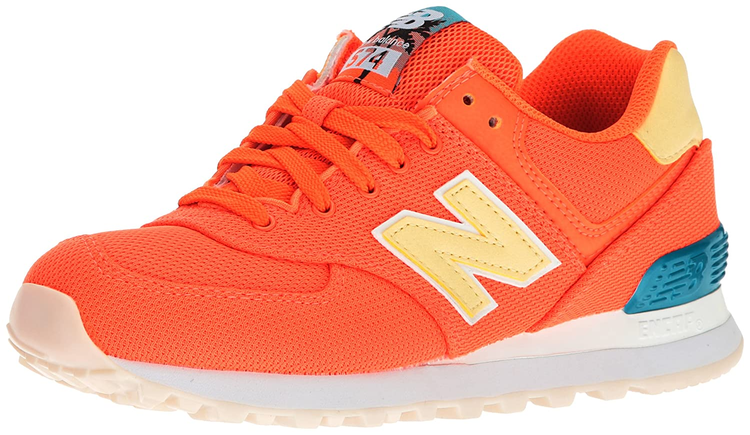 New Balance Orange B0786J2447 Wl574, New Bottes Classiques Femme Orange b30c548 - therethere.space