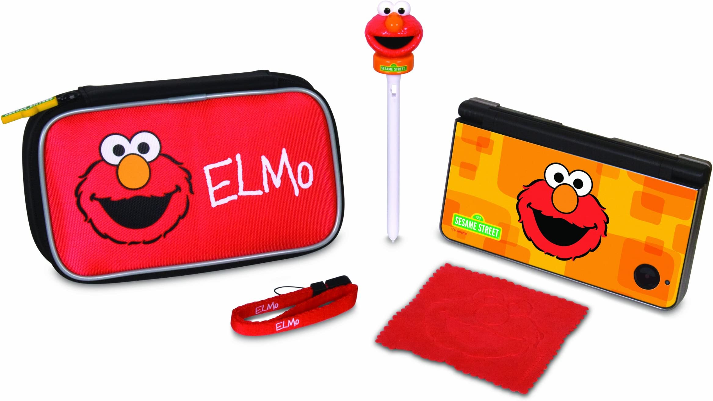 2df1f827537f Amazon.com  dreamGEAR Sesame Street 5-in-1 Starter Kit for Nintendo ...