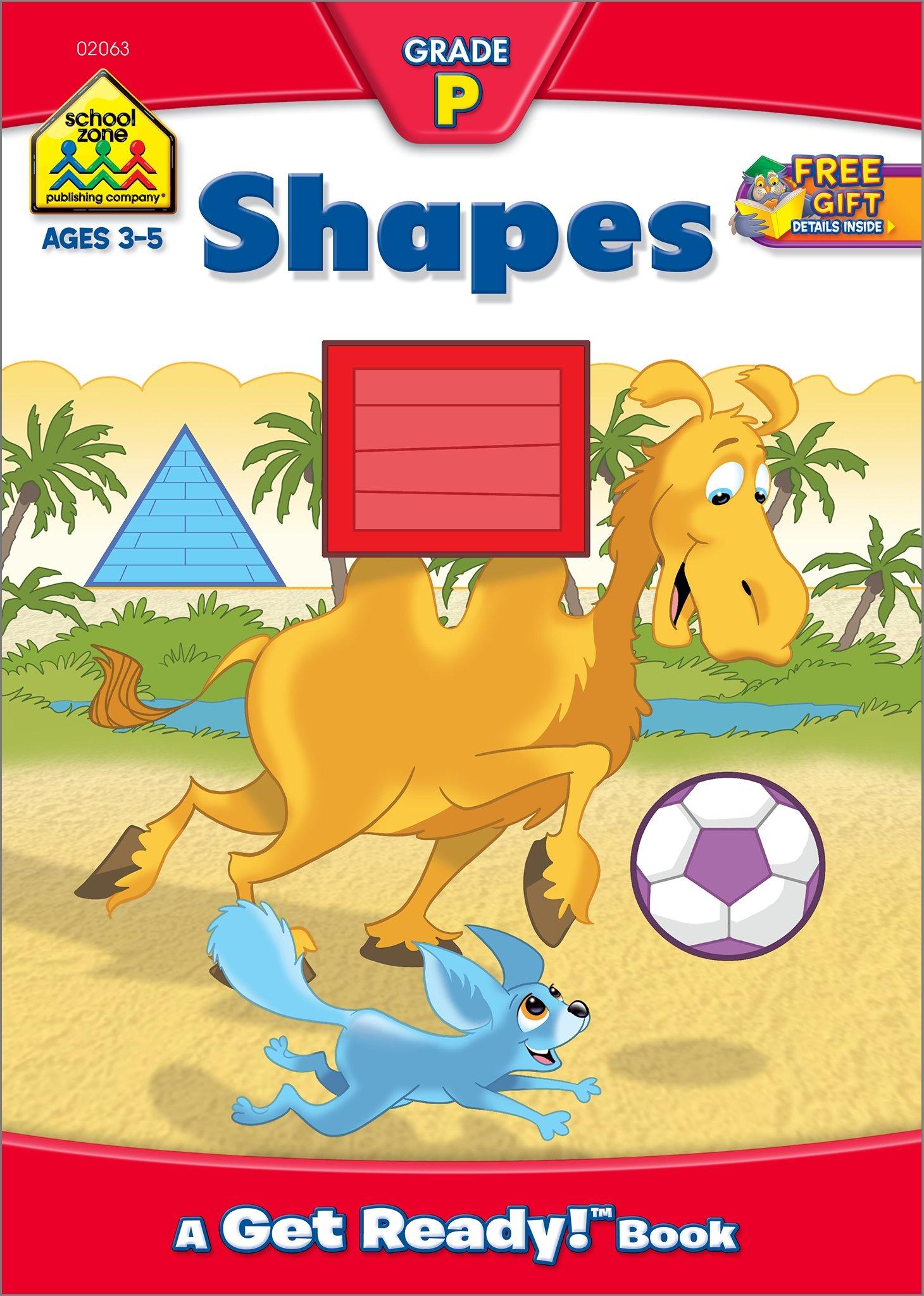 Shapes Workbook Grade P (Get Ready Books) PDF