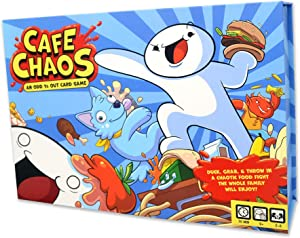 Cafe Chaos Card Game, TheOdd1sOut Original Game