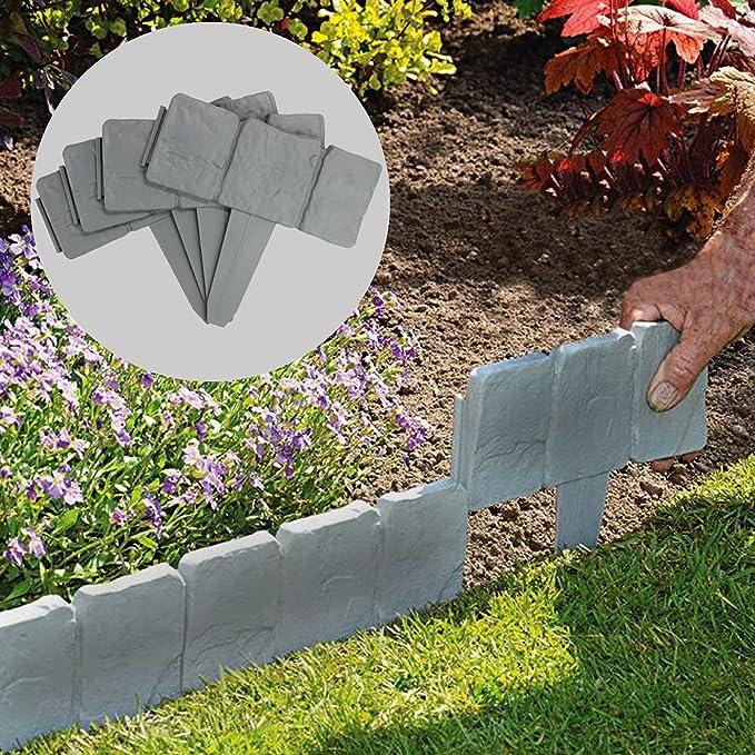 Maison & White Bordes con efecto de césped de piedra de 5 metros ...