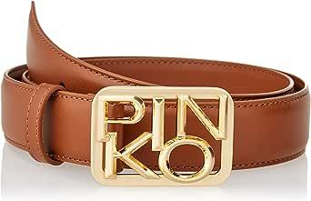 Pinko Day Simply Belt Vit.Seta+Chain Cinturn para Mujer