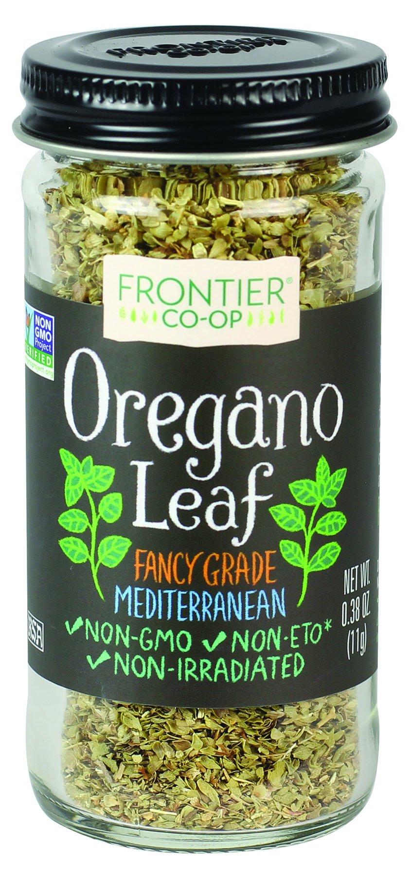 Frontier Co-op Oregano Leaf, 0.38 Ounce