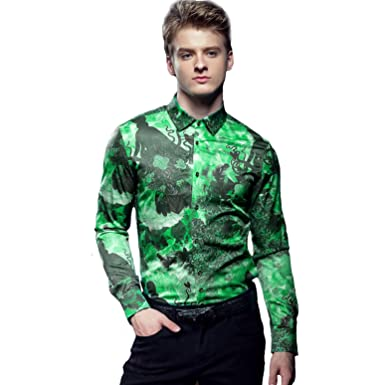 68222101 FANZHUAN Dress Shirts for Men Slim Fit Fashion Wrinkle Free Shirts Men  Graphic Shirts Slim Fit