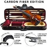 Louis Carpini G2 Clearance Violin Outfit 4/4 (Full) Size Carbon Fiber Edition