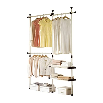 Attirant PRINCE HANGER | Double 2 Tier Hanger U0026 Shelves | Clothing Rack | Closet  Organizer |