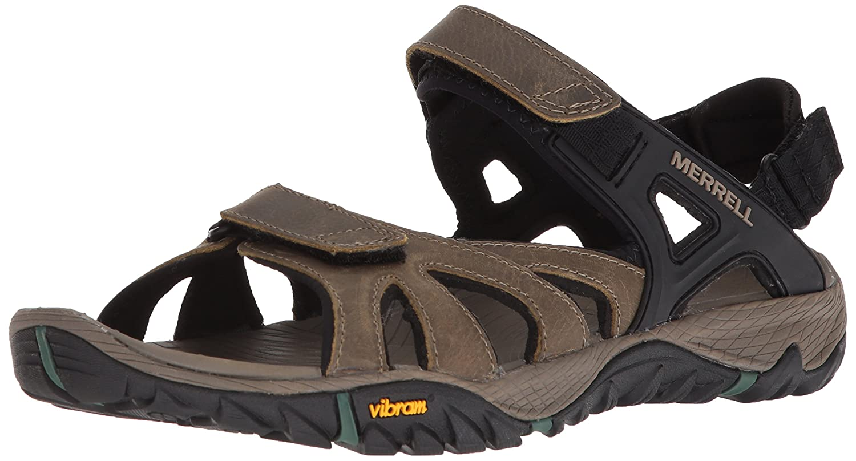 Merrell Men's All Out Blaze Sieve Convertible Water Sandal B072BXV757 10.5 D(M) US|Stucco