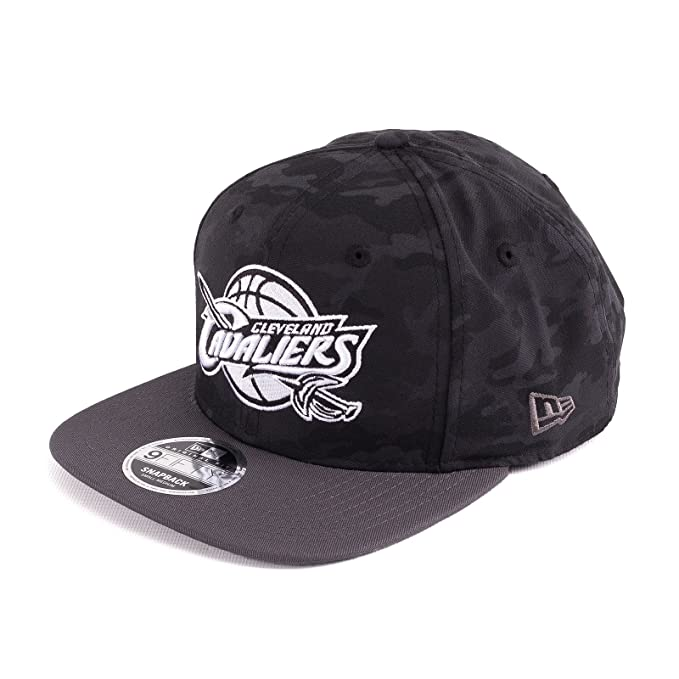 New Era Uomo Cappellini   Snapback Cap NBA Camo Cleveland Cavaliers 9Fifty 75bbd7d56643