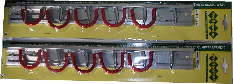 5 Clips 4 Haken Ohne Perforation Ger/ätehalter Wandhalterung Ordnungsgem/ä/ße Lagerung Besenhalterung Wand 304 Edelstahl Hakenleiste K/üche