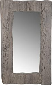 A&B Home Soren Magnesia Mirror Rustic/Natural