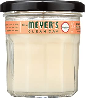 product image for Mrs. Meyer's Clean Day Soy Candle, Geranium, 7.2 oz