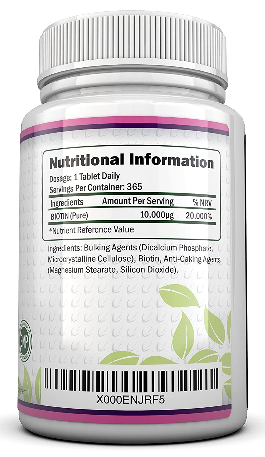 What is the daily dose of biotin?
