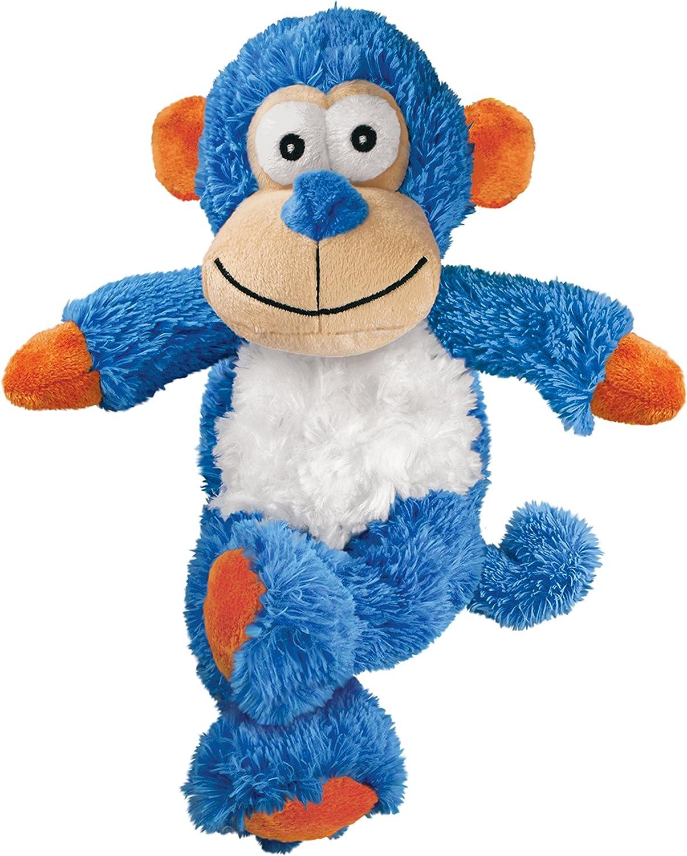 KONG - Cross Knots Monkey - Juguete con cuerdas internas antirrotura - Para Perros Pequeños/Medianos