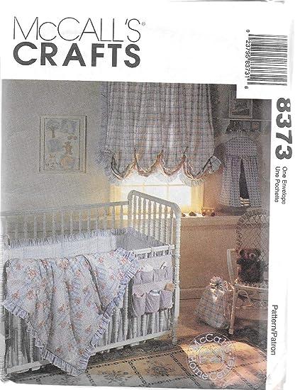 Amazon Mccalls 8373 Sewing Pattern Baby Crib Comforter Ruffle