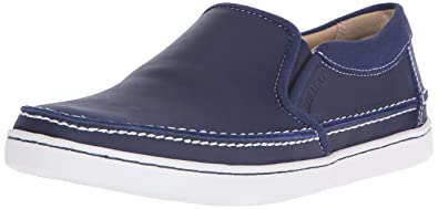 3118e0b80631c Amazon.com | Sebago Men's RYDE Slip On, Navy Leather 7 M US ...