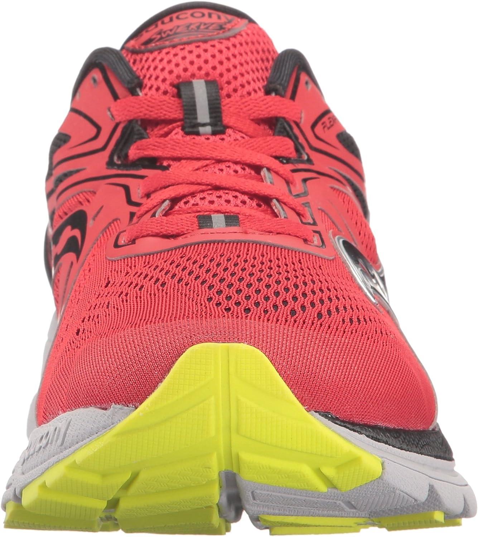 Saucony Swerve Le – Zapatillas de running para hombre rojo s20329 – 2, Hombre, RED/BLACK/CITRON: Amazon.es: Deportes y aire libre