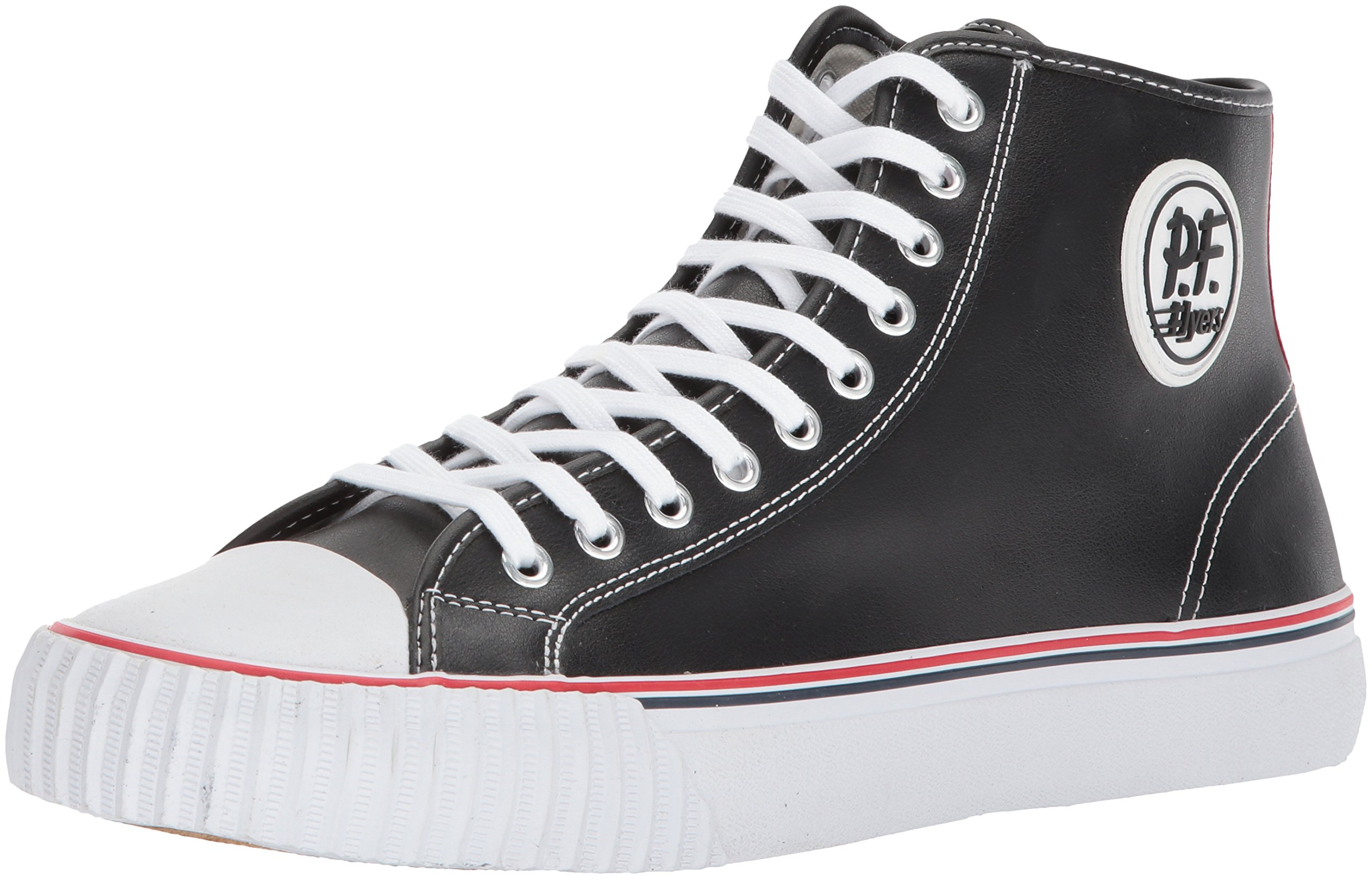 PF Flyers Men's ML2001BK, Black, 6 D US