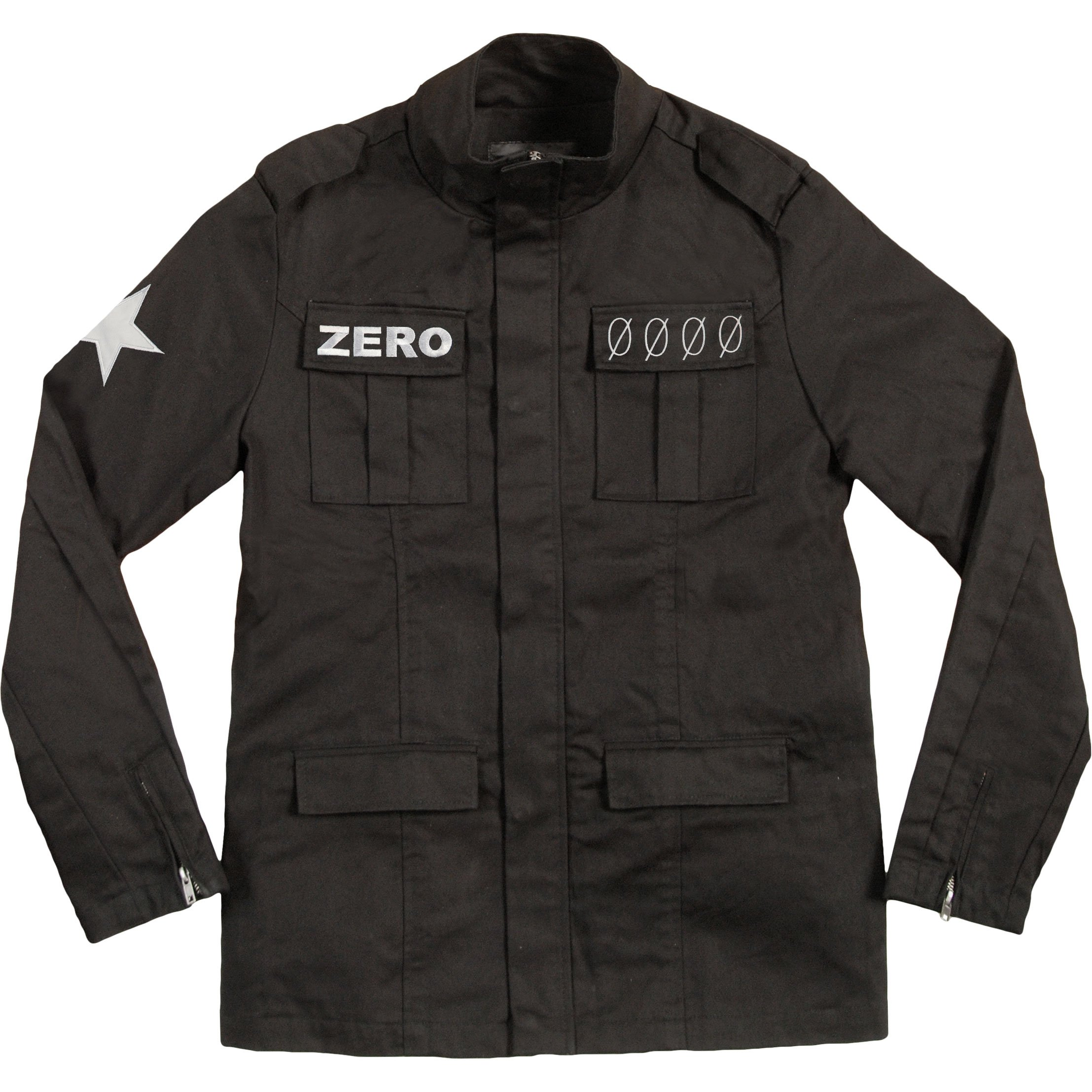 Smashing Pumpkins Men's Army Jacket Small Black by Unknown