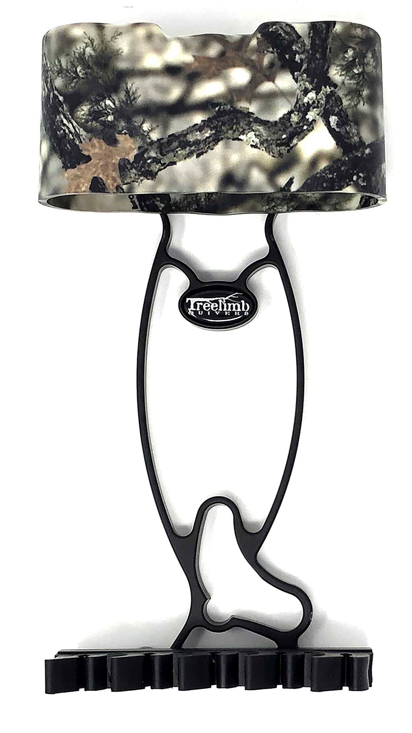 Treelimb Quivers 5 Arrow Premium Compound Bow Archery Quiver – Aluminum Frame – Features a Patented Broadhead Capture System & Tension Locking Mounting System (Lost Camo XD)