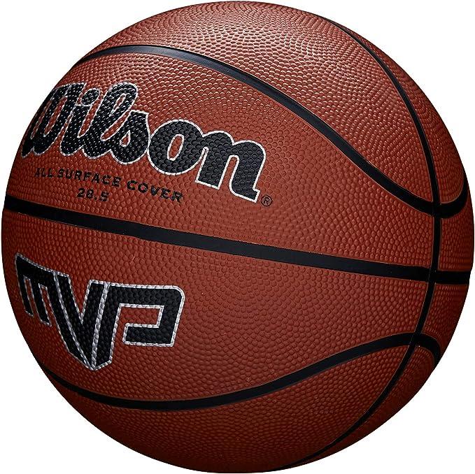 Wilson MVP - Balón, color Naranja/ Negro, tamaño: 7: Amazon.es ...