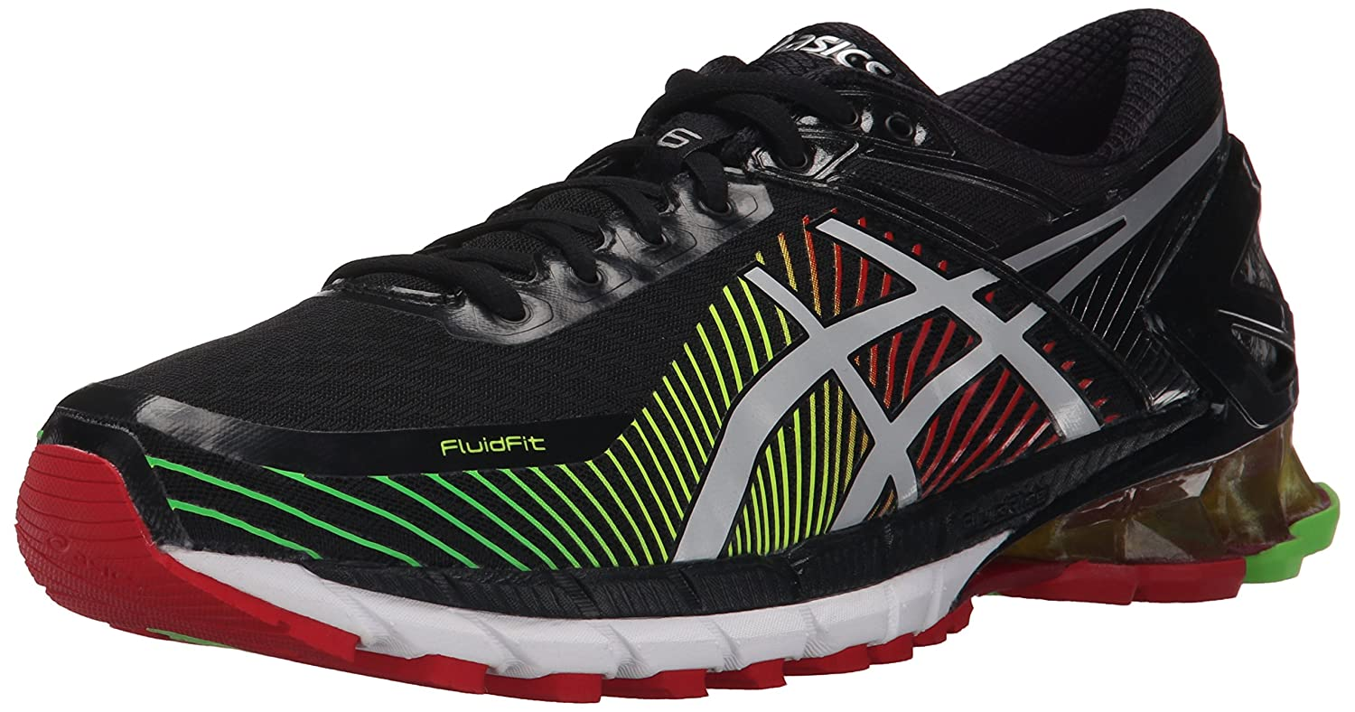 testimonio simplemente golf  Buy ASICS Gel-Kinsei 6 Running Shoe Black/Silver/Red 15 D(M) US at Amazon.in