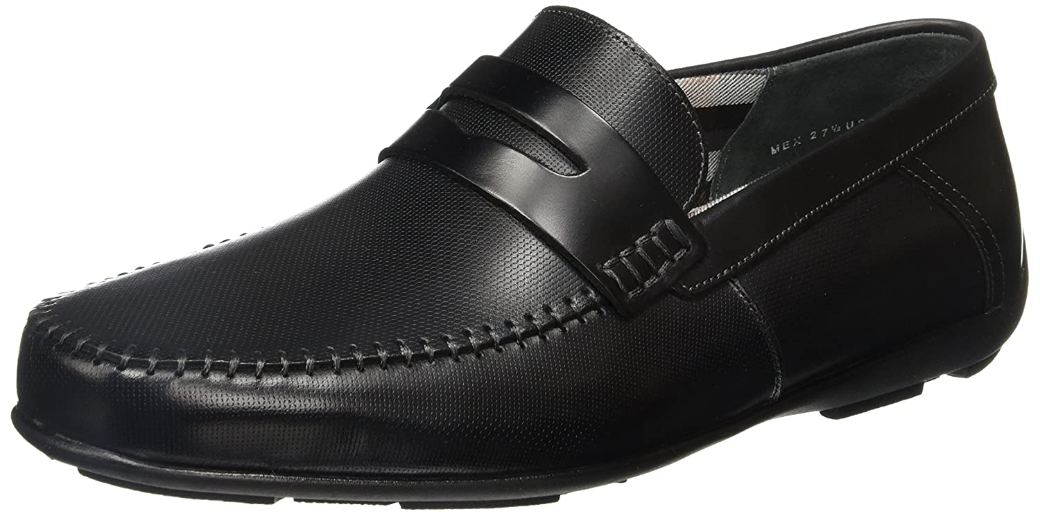 Amazon.com | Flexi Soho 68607 Mens Genuine Black Leather Classic Style Penny Loafer | Handmade in Mexico | Loafers & Slip-Ons