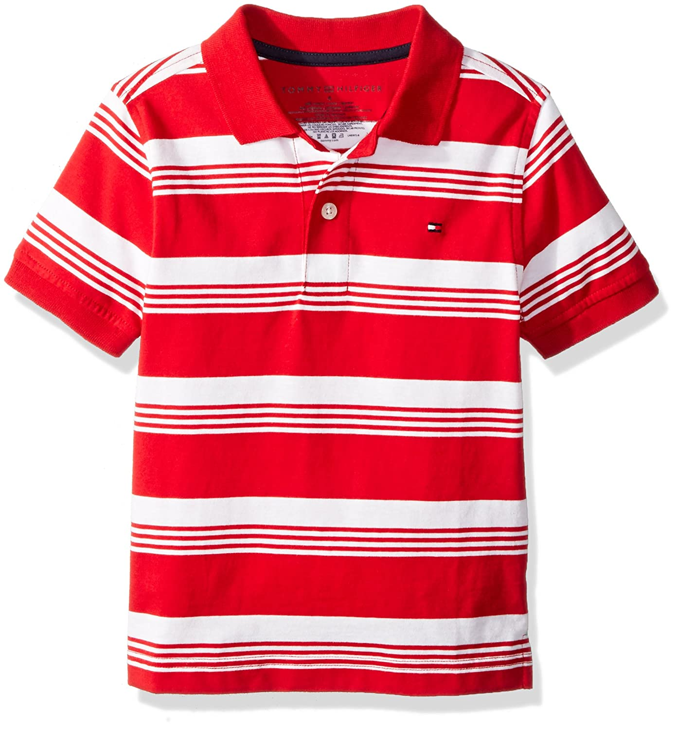 988ee3223 Online Cheap wholesale Tommy Hilfiger Boys Short Sleeve Striped Polo Shirt  Polos Suppliers