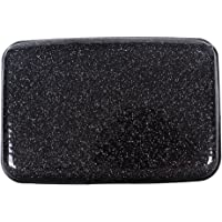 Glitter Bling Aluminum RFID Blocking Wallet Slim Hard Metal Credit Card Holder