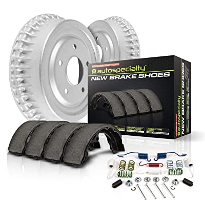 Power Stop KOE15389DK Autospeciality Replacement Rear Brake Kit- OE Rotors & Ceramic Brake Pads: Automotive
