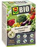 COMPO BIO Insekten-frei Neem, Bekämpfung von Schädlingen an Zierpflanzen, Kartoffeln, Gemüse und Kräutern, 75 ml, 300m²