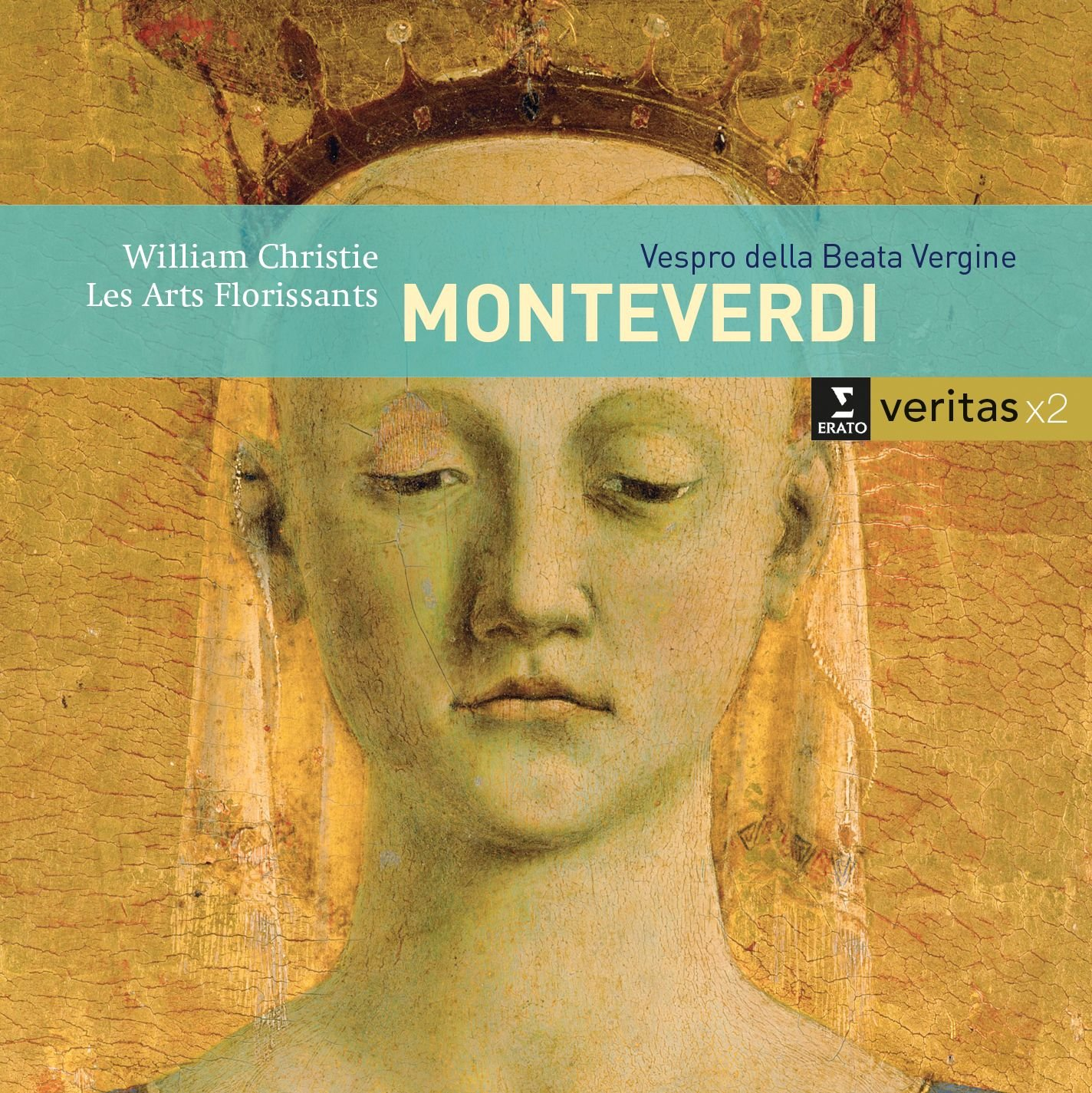 CD : Les Arts Florissants - Monteverdi / Vespro Della Beata Virgine (2PC)