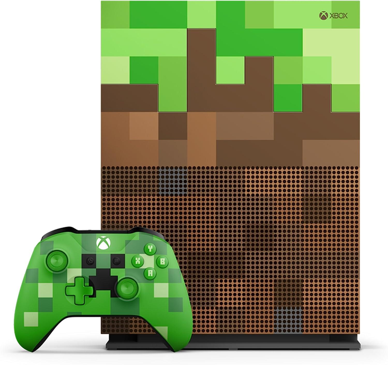 Microsoft Xbox One S Minecraft Limited Edition 1000GB Wifi ...