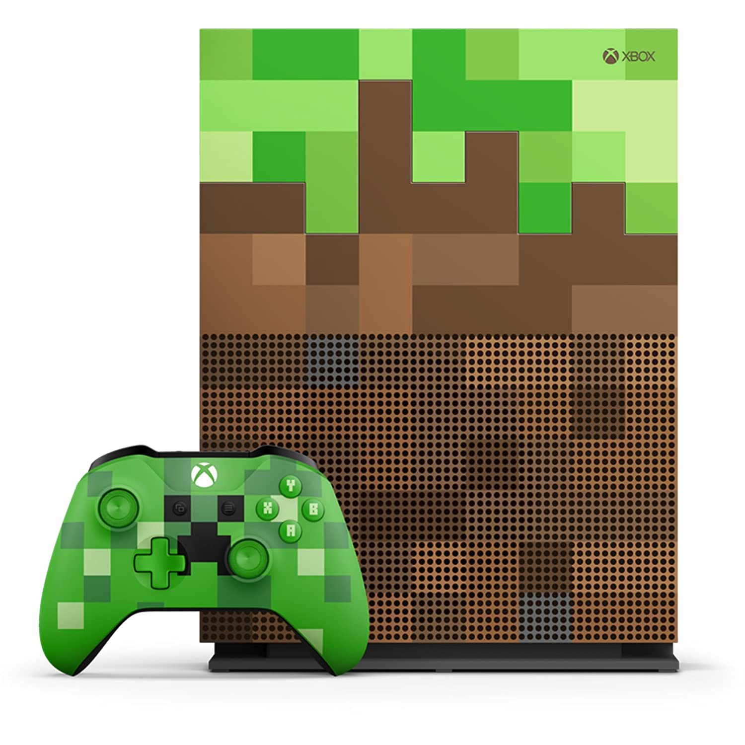 Amazon.com: Xbox One S 1TB Limited Edition Console - Minecraft Bundle  [Discontinued]: Video Games