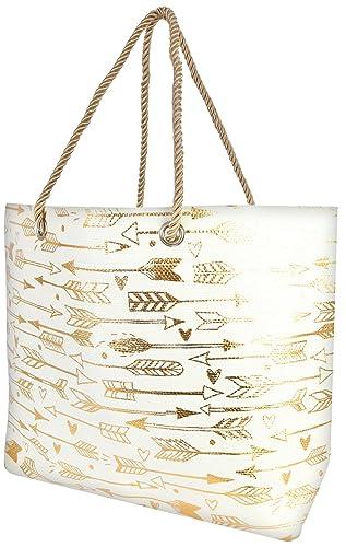 Amazon.com: Delias bolsa de playa bolsa con correa de hombro ...