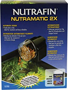 Nutrafin Nutramatic 2X Fish Food Feeder
