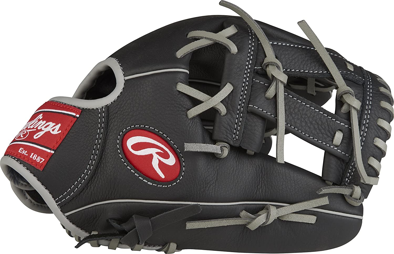 Rawlings Select Pro Lite Youth Series - Guante de béisbol, 12, color Black/Camel- Bryce Harper Model, tamaño 10-1/2 12 tamaño 10-1/2 Rawlings Sporting Goods SPL120BH-0/3